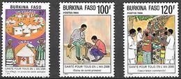 Burkina Faso 697/699 ** MNH. 1986 - Burkina Faso (1984-...)