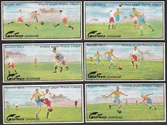 Altona /.Gartmann - Kakao Und Schokolade Fabrik / Serie 601 / 1-6 Komplett / Football / Victoria - Phonix - Other