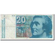 Suisse, 20 Franken, 1981, KM:55c, TB - Switzerland