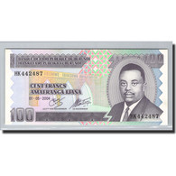 Burundi, 100 Francs, 2004, 2004-05-01, KM:37D, NEUF - Burundi