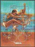 PALAU 1992 OLYMPICS BARCELONA BOB BEAMON LONG JUMP ATHLETICS M/SHEET MNH - Palau