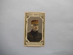 CHROMO CHOCOLAT GUERIN-BOUTRON N° 418 GENERAL DE LACROIX GENERALISSIME  LIVRE D'OR DES CELEBRITES CONTEMPORAINES - Guerin Boutron