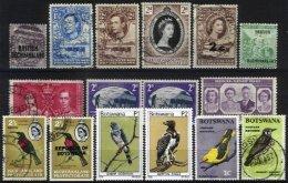 BECHUANALAND/BOTSWANA, Colecção/Collection, 1880s/1960s - 1885-1964 Bechuanaland Protectorate