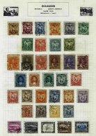 ECUADOR, Colecção/Collection, 1880s/1960s - Equateur