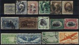 UNITED STATES, Colecção/Collection, 1870s/1970s - Sammlungen