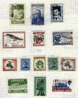 URUGUAY, Colecção/Collection, 1930s/60s - Uruguay
