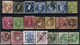 WORLDWIDE, Lote/Lot, 1860s/1960s - Timbres