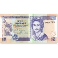 Belize, 2 Dollars, 2003-2010, 2003-06-01, KM:66a, NEUF - Belize