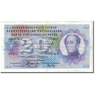 Suisse, 20 Franken, 1972, KM:46t, 1972-01-24, TTB - Switzerland