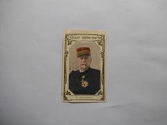 CHROMO CHOCOLAT GUERIN-BOUTRON N° 551 GENERAL SAUSSIER NE EN 1828 GOUVERNEUR DE PARIS EN 1884  2e LIVRE D'OR - Guerin Boutron