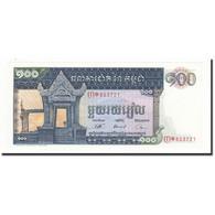 Cambodge, 100 Riels, 1972, KM:12b, NEUF - Cambodia