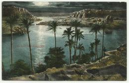 EGPC009 Egypt / Assouan River Nile From Cataract Hotel - Postcard - Aswan