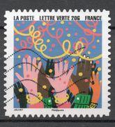 FRANCE 2015 Oblitéré : Bonne Année 2016 - France
