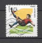 France 2016 Oblitéré : Football-vos 10 Gestes Préférés - France