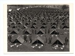 Michigan: Fort Custer, Campement Militaire, Photo: John Philips, 1941 (17-1549) - Etats-Unis
