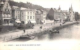 Dinant - Quai De Meuse En Amont Du Pont (Hôtel, Bertels) - Dinant