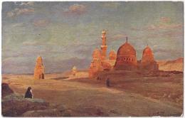 EGPC044 Egypt / Cairo / Les Tombeaux Des Califes . Postcard - Cairo