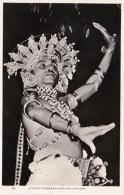 Sri Lanka Ceylon Kandy A Chief Kandyan Dancer Real Photo