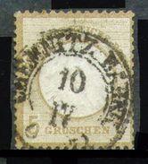 ALEMANIA REICH-Mi. 6-Yv. 6 -N-10326 - Oblitérés