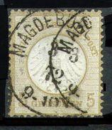 ALEMANIA REICH-Mi. 6-Yv. 6 -N-10327 - Oblitérés