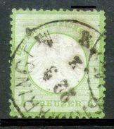 ALEMANIA REICH-Mi. 7-Yv. 7 -N-10328 - Oblitérés