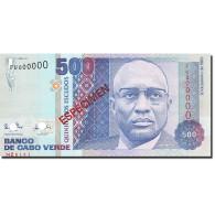 Cape Verde, 500 Escudos, 1989, KM:59s, 1989-01-20, SPECIMEN, NEUF - Cap Verde