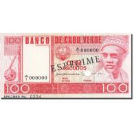 Cape Verde, 100 Escudos, 1977, KM:54s, 1977-01-20, SPECIMEN, NEUF - Cap Vert