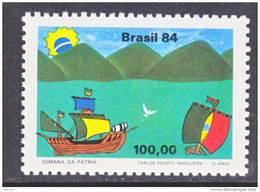 Brazil  1950    **  CHILDENS  DRAWINGS  SAILING SHIPS - Brazil