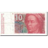 Suisse, 10 Franken, 1981, KM:53c, TTB - Suiza