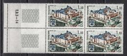 FRANCE 1971 - BLOC DE 4 TP Y.T. N° 1686 - NEUFS** /Y185 - France