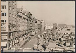 °°° 6468- NORWAY - BERGEN - STRANDKAIEN - 1958 With Stamps °°° - Norvegia