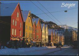 °°° 6469- NORWAY - BERGEN - 1995 With Stamps °°° - Norvegia