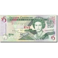 Etats Des Caraibes Orientales, 5 Dollars, 2008, Undated (2008), KM:47a, SUP - Caraïbes Orientales