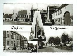 18167  CPM   SCHIFFWEILER  : Gruss Aus ..  ,   Carte Photo  Multivues   , TOP ! - Kreis Neunkirchen
