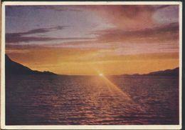 °°° 6474- NORWAY - MIDNATTSOL - 1953 With Stamps °°° - Norvegia