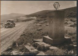 °°° 6475- NORWAY - VELEN OVER SALTFJELLET PASSERER POLARSIRKELEN - 1957 With Stamps °°° - Norvegia