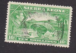 Sierra Leone, Scott #184, Used, Rice Harvesting, Issued 1938 - Sierra Leone (...-1960)