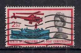 GB 1963 QE2 2 1/2d Lifeboat Conference Used Stamp SG 639  ( 305 ) - 1952-.... (Elizabeth II)