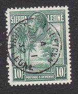 Sierra Leone, Scott #151, Used, Palms And Kola Tree, Issued 1932 - Sierra Leone (...-1960)