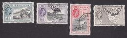 Sierra Leone, Scott #200-203, Used, Queen Elizabeth II, Issued 1956 - Sierra Leone (...-1960)