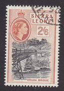 Sierra Leone, Scott #204, Used, Queen Elizabeth II, Issued 1956 - Sierra Leone (...-1960)
