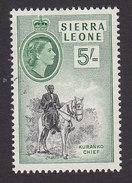 Sierra Leone, Scott #205, Used, Queen Elizabeth II, Issued 1956 - Sierra Leone (...-1960)