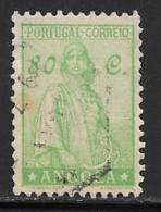 Angola, Scott # 255 Used Ceres, 1932 - Angola
