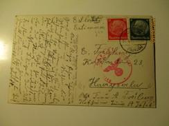 GERMANY HOFHEIM TAUNUS  WEHRMACHT CENSORED TO  ESTONIA ,    , KO - Alemania