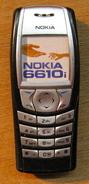 ECHANTILLON SANS EMPLOI FACTICE TELEPHONE PORTABLE NOKIA 6610i ( NOIR ) - Téléphonie