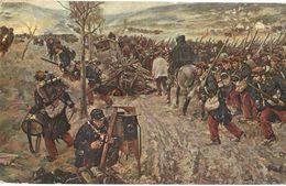 CPA N°8479 - LOT DE 3 CARTES DE LA GUERRE EN DESSINS - Oorlog 1914-18