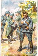 CPA N°8480 - NOS COMBATTANTS - LE VAGUEMESTRE - Guerre 1914-18