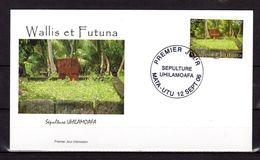 """(Faciale = 2.45 €) Enveloppe 1er Jour De 2006 : """" SEPULTURE  UHILAMOAFA """". N° YT 665. Parfait état. FDC - FDC"""