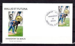 "WALLIS ET FUTUNA 1997 : Enveloppe 1er Jour : "" HANDISPORT DE BERLIN "". N° YT 509. Parfait état. FDC - Handisport"