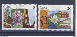 CUBA 1982 RESSOURCES HYDRAULIQUES  YVERT N°2383/84  NEUF MNH** - Cuba